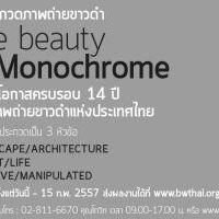 การประกวดภาพถ่ายขาวดำ The Beauty of Monochrome