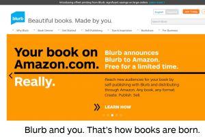Blurb สื่อหนังสือ on demand สามารถออนไลน์ขายบน Amazon ได้แล้ว
