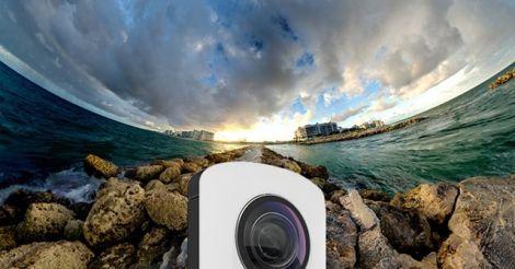 Ricoh Theta Camera เก็บภาพ 360 องศาในครั้งเดียว