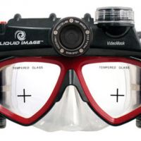 Digital Camera Swimming Mask by Liquid Image