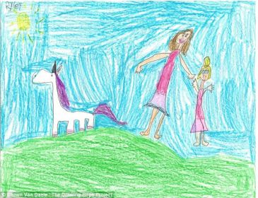 Turn drawing dream into reality, the portrait project for seriously ill children.
