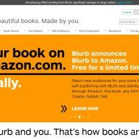 Blurb, on demand photobook platform, now available on Amazon.com