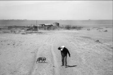 ภาพถ่าย วิถีชีวิตชนบทแบบดั้งเดิมและปัญหาภัยแล้ง ในโอกลาโฮมา